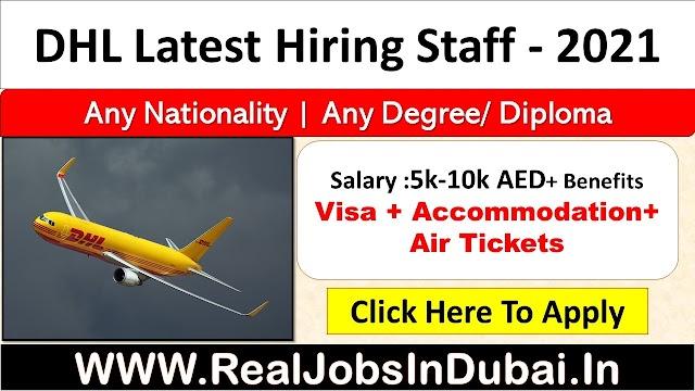 DHL Jobs In UAE , Saudi , Qatar , India & Canada.