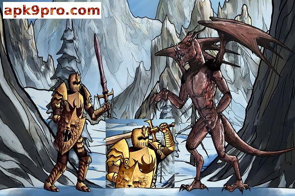 The Paladin's Story: Melee & Text RPG (Offline) v0.73.2 Apk + Mod (File size 110 MB) for android