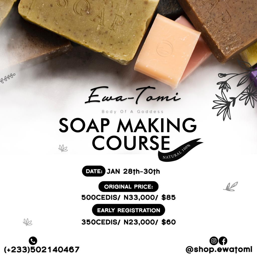 Soap making course