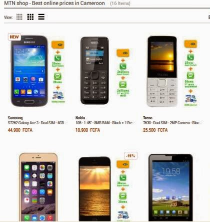 9cb8ac0ea0f The third way is by buying electronics on the MTN shop. The MTN shop on  Jumia is the most popular shop in terms of discounts. You can buy your  phones with ...