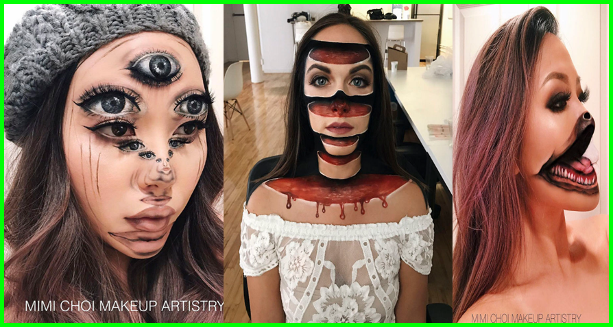 """Gives Up Teaching To Create Optical Illusions With Makeup, """"And Its Messing With Our Minds"""""""