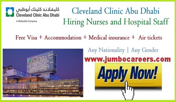 Cleveland Clinic Abu Dhabi Hiring Nurses And Hospital Staff With Free Visa