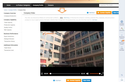 Proveedor Verificado Alibaba Vídeo
