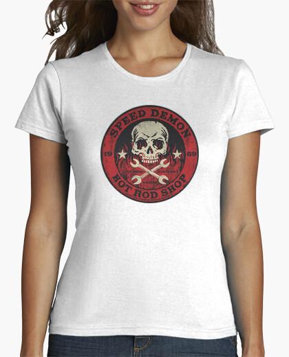 Camisetas Mujer - Diseño Speed Demon