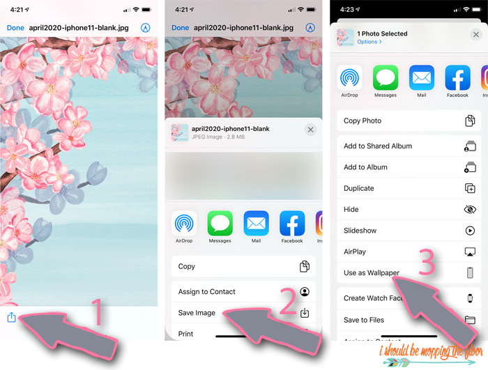 How to Use Wallpaper for iPhones or iPads