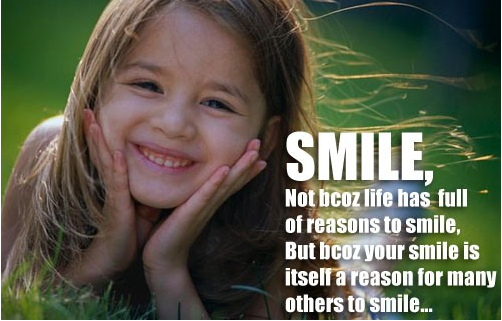 Top 15 Best  Reasons to Smile & Powers of Smile
