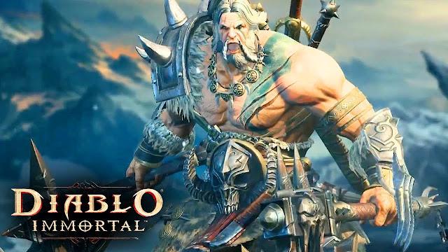Blizzard mostró de su nuevo gameplay de Diablo Immortal