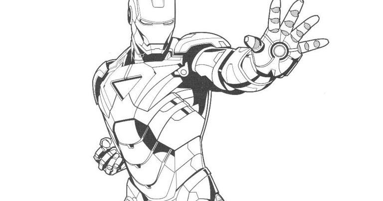 Mewarnai Gambar Iron Man Mewarnai Gambar