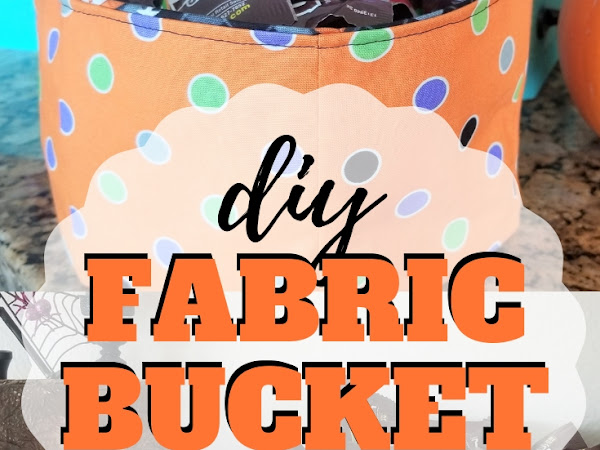 Free Fabric Bucket Sewing Pattern + SVG Cut Files