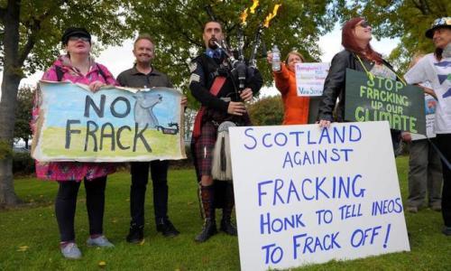 El Gobierno de Escocia anuncia la prohibición del fracking