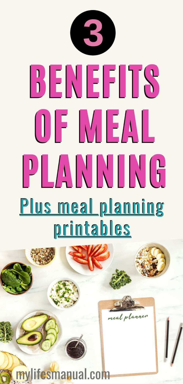 Wondering why you should get started with meal planning? Learn why meal planning will help you reduce your food budget, keeps your family healthy and save you a lot of time. #mealplanning #mealprep #mealplanningideas #food