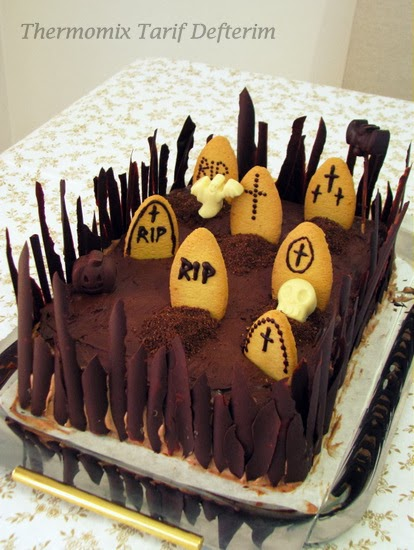 Torta Cimitero per Halloween