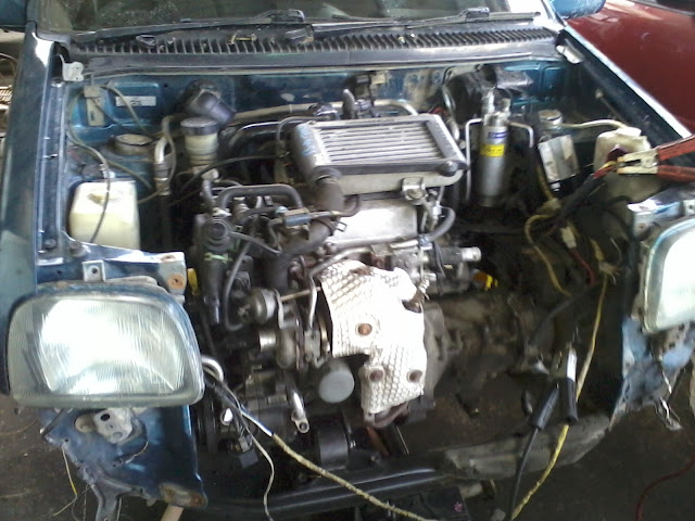 LIFE WITH MACHINE: Perodua Kancil 850cc Converted to 660cc