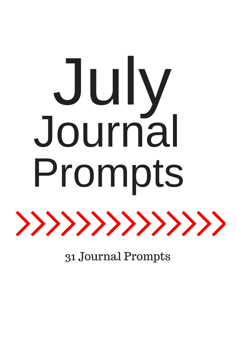 Life of Lovely: July Journal Prompts + Printable