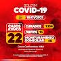 Cinco casos de Covid-19 foram   registrados hoje em Jaguarari