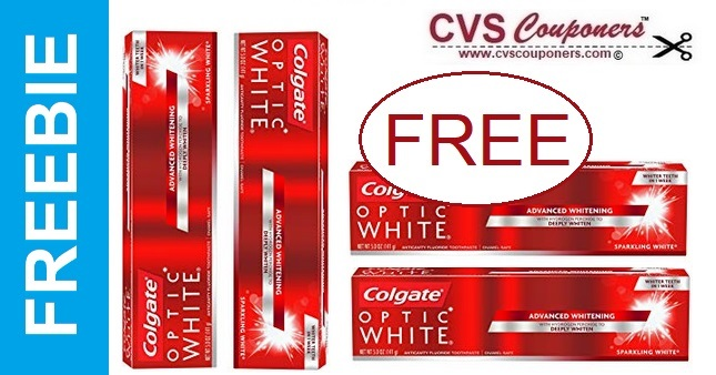FREE Colgate Optic White Toothpaste at CVS 9-29-10-5