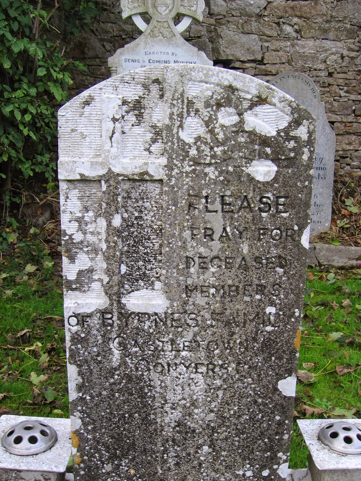 Please pray for deceased members of Byrnes family of Castletown Conyers in County Limerick Ireland