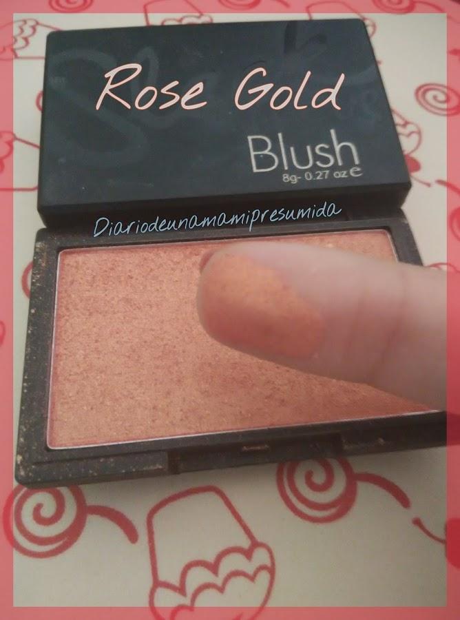 sleek rose gold