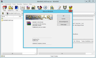 Download WinRAR 5.50 Final Full Version Pre-Activated Silent Install Gratis - JemberSantri