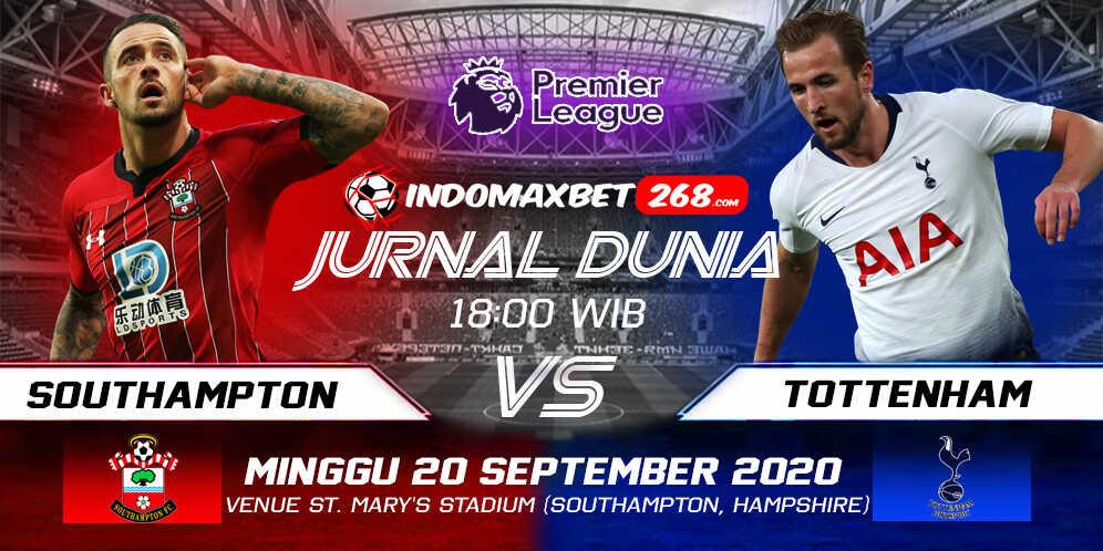 Prediksi Southampton Vs Tottenham Hotspur 20 September 2020 Pukul 18.00 WIB