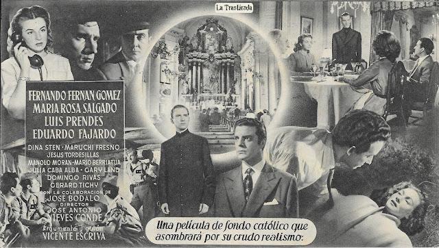Programa de Cine - Balarrasa - Fernando Fernán Gómez - M.Rosa Salgado