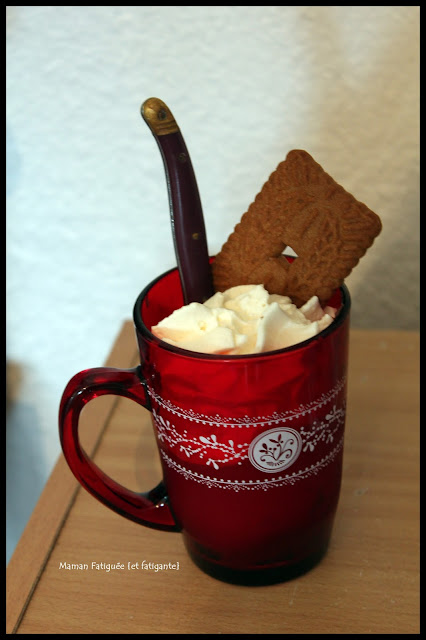 gouter compote nutella chantilly speculoos