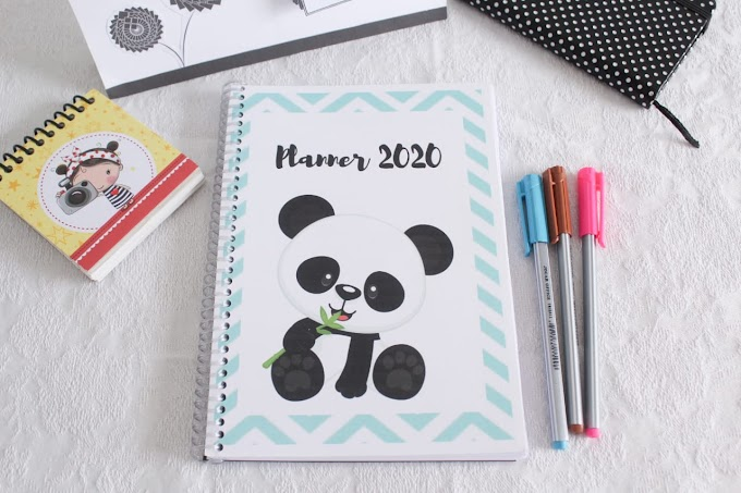 Planner Pessoal 2020 para imprimir