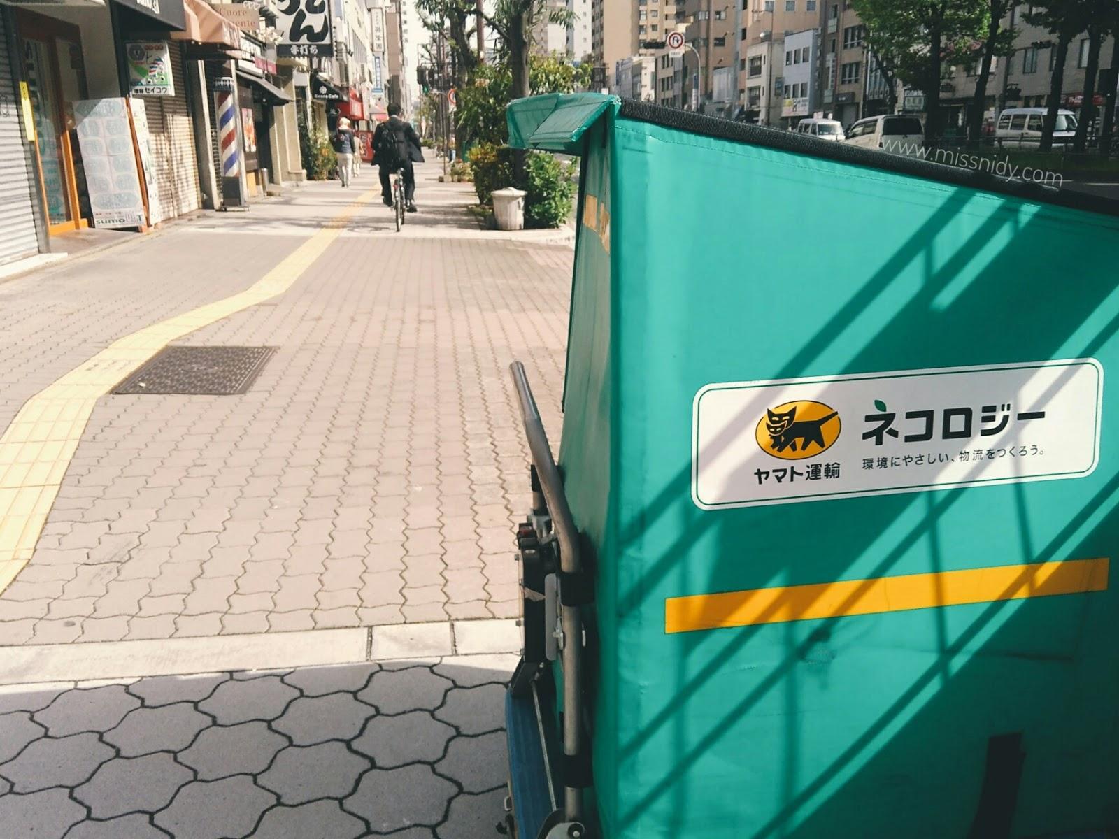 delivery koper di jepang