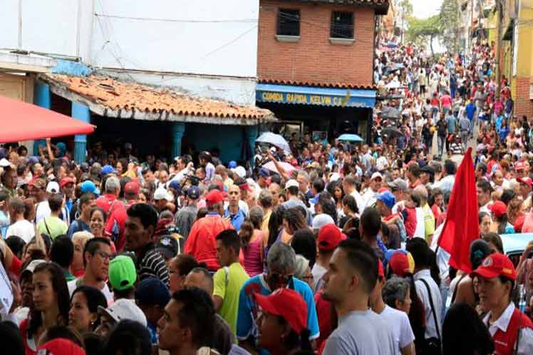 Venezolanos cierran filas en torno a proceso Constituyente