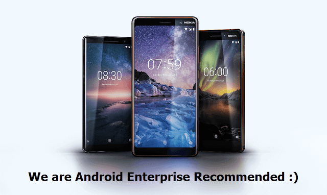 Nokia Android Enterprise Recommended Devices