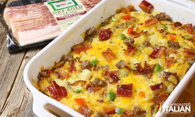 Cheesy Breakfast Casserole Recipe For Breakfast