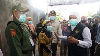 Pemungutan Suara Pilkada 2020 Aman dan Kondusif, Gubernur Khofifah: Terima Kasih Masyarakat Jawa Timur