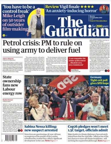 The Guardian Magazine 27 September 2021