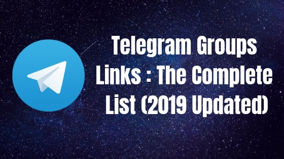 best telegram group links list huge list