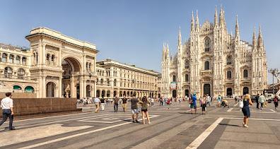 La bella citta' di Milano : tutti i luoghi da scoprire e, le cose da vedere.