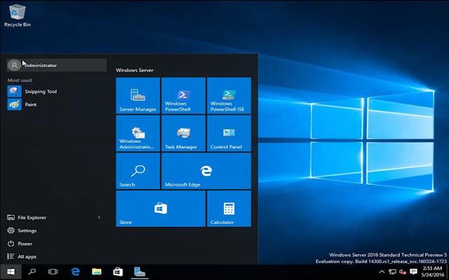 تحميل Windows Server 2016 رابط مباشر