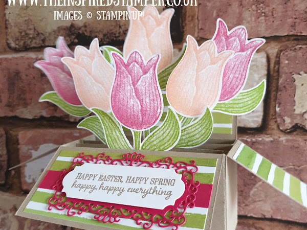 Stampin'Up! Tulips in bloom box card