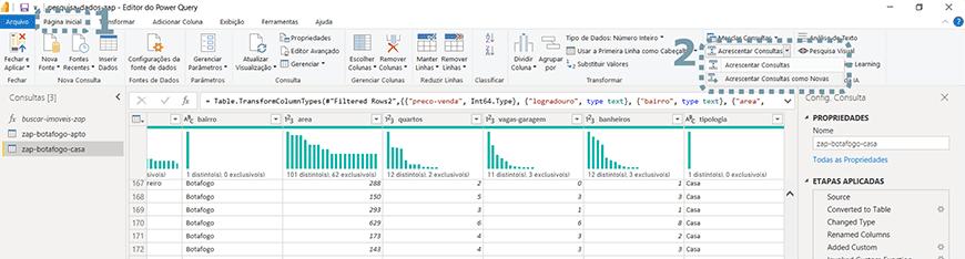 Guia passo a passo tratamento de dados com Power bi - figura 33