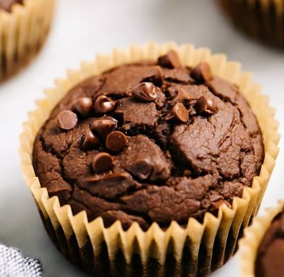 CHOCOLATE AND PUMPKIN MUFFINS