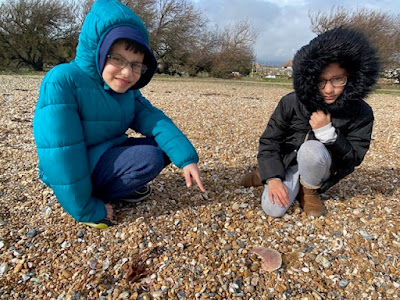 Children on Goring Beach, Worthing