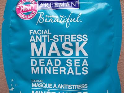 antistresová pleťová maska