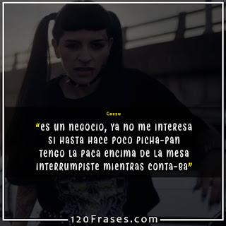 Frases del trap argentino de Cazzu