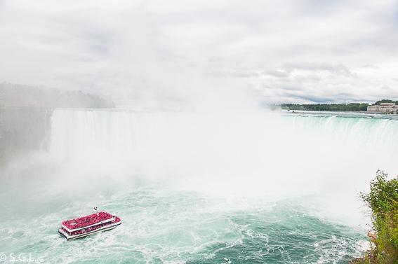 Recorrido Hornblower. Cataratas del Niagara