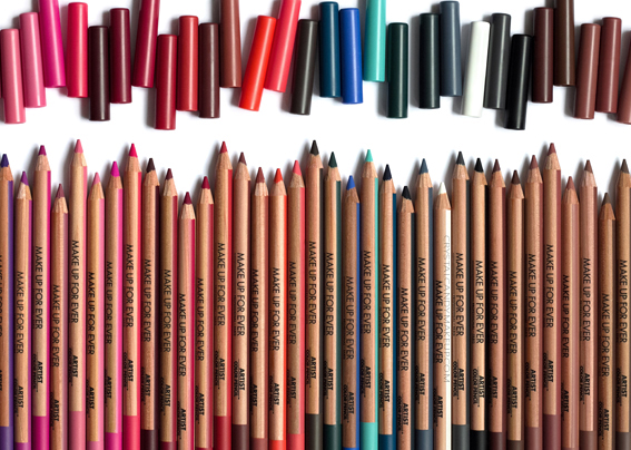 Make Up For Ever Artist Color Pencils MUFE Review Photos Swatches All Shades