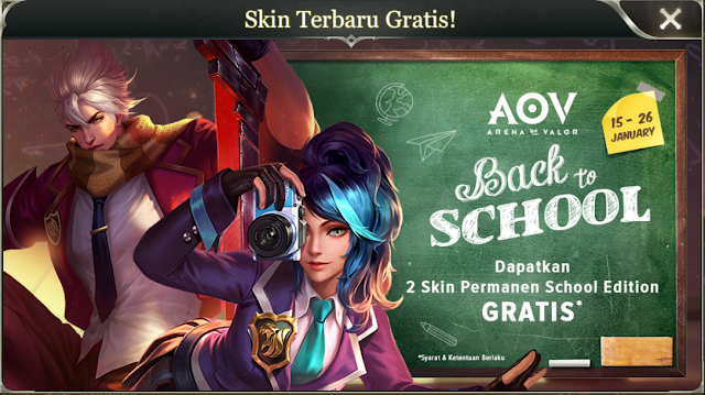 Buruan Dapatkan Skin Epic Gratis Hero Murad Dan Natalya Terbaru [Limited]