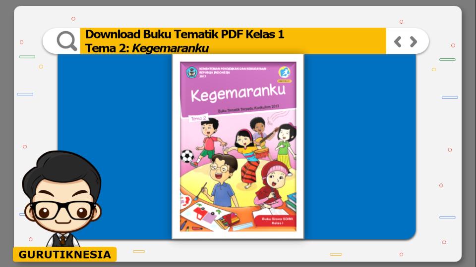 download buku tematik pdf kelas 1 tema kegemaranku