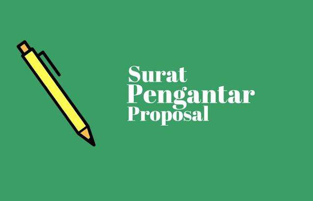 Surat Pengantar Proposal
