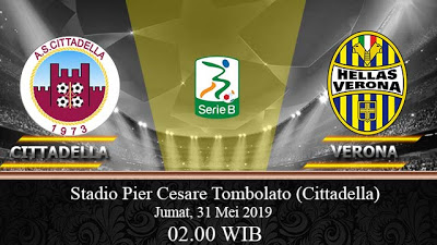 Prediksi Bola Cittadella Vs Verona 31 Mei 2019 Bandar Agen Bola