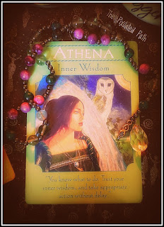 Goddess Guidance Oracle's Athena Card