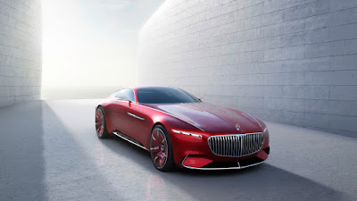 Concept Mercedes-Maybach 6 coupè ultra moderna
